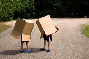 Walking boxes