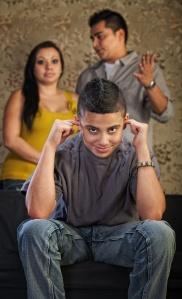 Rude Teenager Plugs Ears