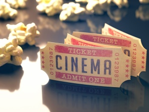 Cinema Vintage. Clipping path included.