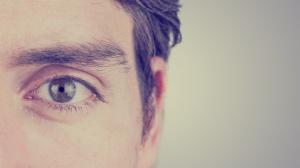 Eye of a man