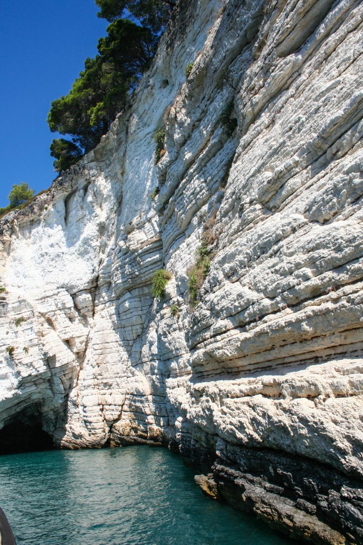 Costa rocciosa italiana